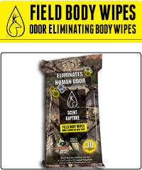 Field body wipes